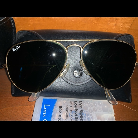 Bausch and Lomb ray ban vintage aviator sunglasses